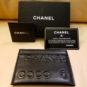 Chanel lambskin cardholder